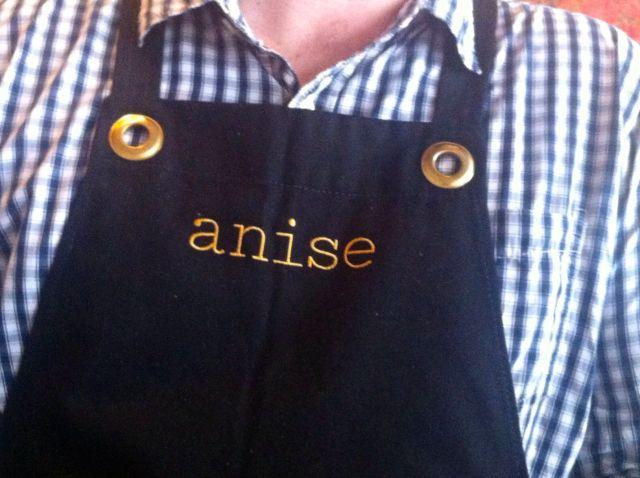 Anise - apron